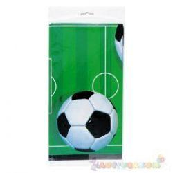 3-D Soccer - Focis Party Asztalterítő - 137 cm x 213 cm