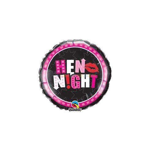 Hen night fólia léggömb lánybúcsúra - 45 cm