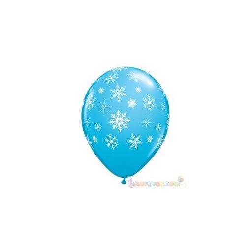 28 cm-es Hópehely mitás latex Léggömb darabra