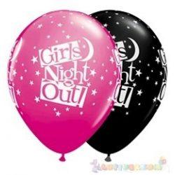 Girls Night Out feliratos léggömb lánybúcsúra - 28 cm