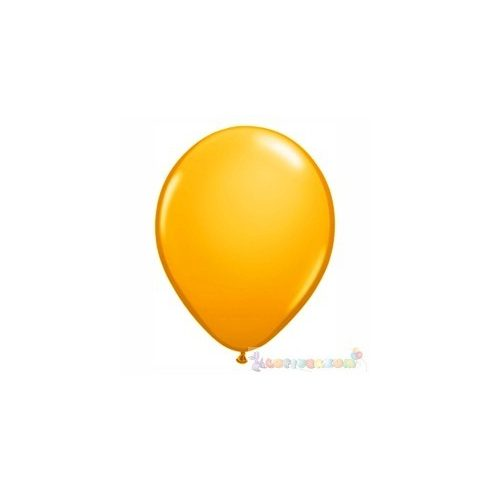 Sárga - Napsárga 28 cm-es latex Qualatex party lufi