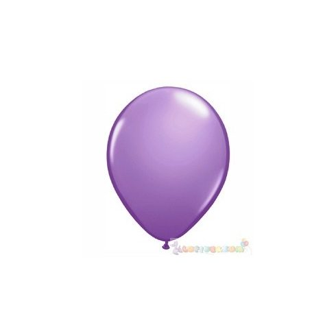 Lila - Orgona 28 cm-es latex Qualatex party lufi