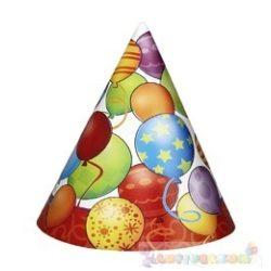 Birthday Balloons - Léggömbös Szülinapi Parti Csákó - 8 db-os