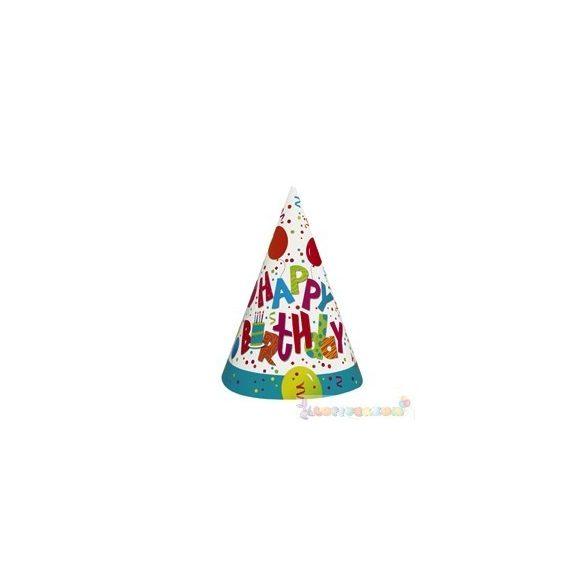 Birthday Jamboree Szülinapi Parti Csákó - 8 db-os