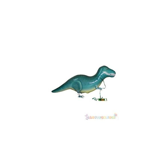 Sétáló dinoszaurusz fólia lufi - 50 cm