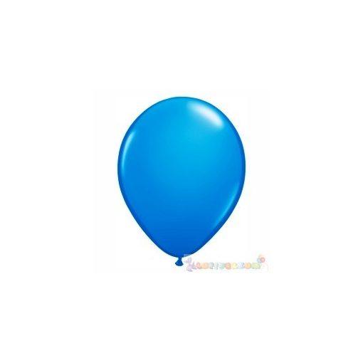 28 cm-es kék – sötét latex Qualatex party Lufi Darabra