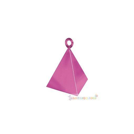 Magenta rózsaszín piramis léggömbsúly - 110 gramm