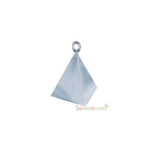Ezüst piramis léggömbsúly - 110 gramm