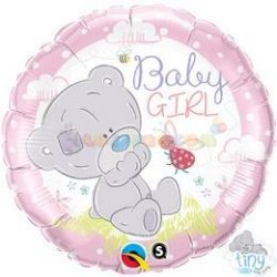 Tatty Teddy Baby Girl Fólia Lufi Babaszületésre 45 cm