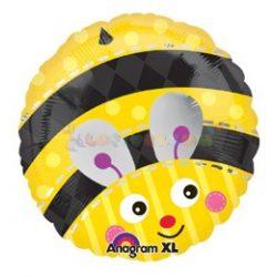 Méhecske fólia léggömb - 45 cm