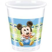 Mickey Baby Parti Pohár - 8 db-os, 200 ml