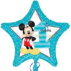 Mickey Mouse Első Szülinapi Lufi