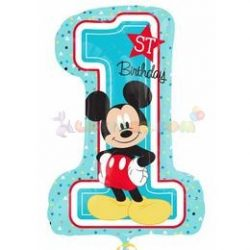 Mickey Mouse Első Szülinapi Lufi számos