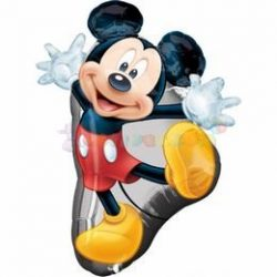 Mickey Mouse Full Body - Mickey Egér Super Shape Fólia Lufi