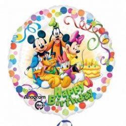Mikiegér és Barátai - Mickey & Friends Party Fólia Lufi
