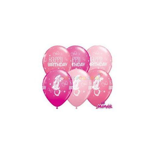 Minnie Mouse Születésnapléggömb - 28 cm