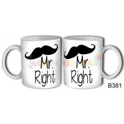 MR. Right Bögre