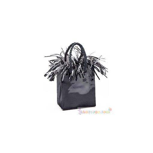 Fekete Mini Ajándéktasak Léggömbnehezék - 160 gramm