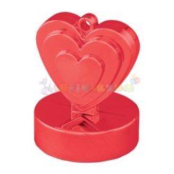 Piros Szives Léggömbsúly - 110 gramm