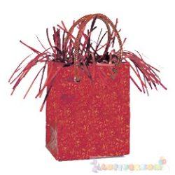 Piros Mini Ajándéktasak Léggömbnehezék - 160 gramm
