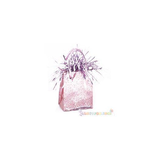 Rózsaszín Mini Ajándéktasak Léggömbnehezék - 160 gramm