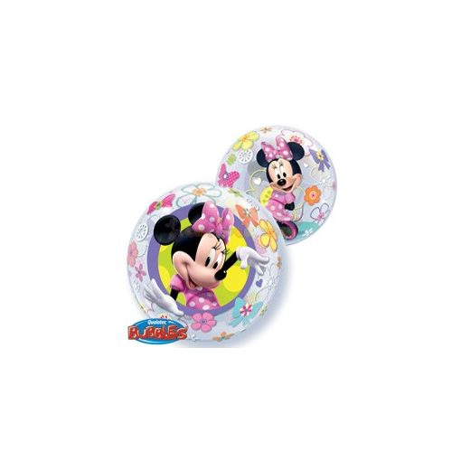 Disney Bubbles Minnie Mouse Bow-Tique Léggömb