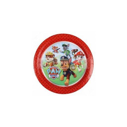 Paw Patrol - Mancs Őrjárat Papír Parti Tányér - 23 cm, 8 db-os