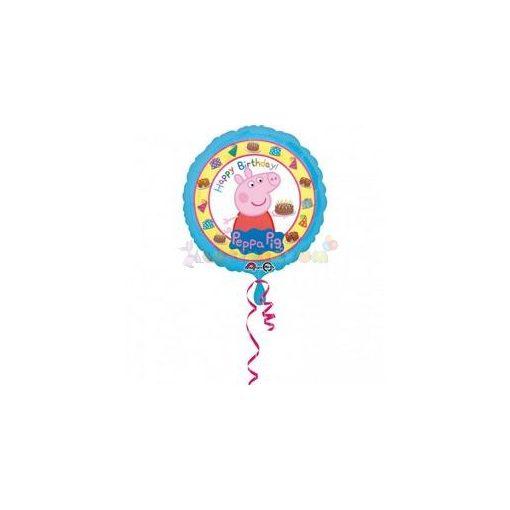 Peppa malac születésnapi fólia léggömb
