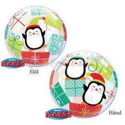 Pingvines Karácsonyi Bubble Lufi
