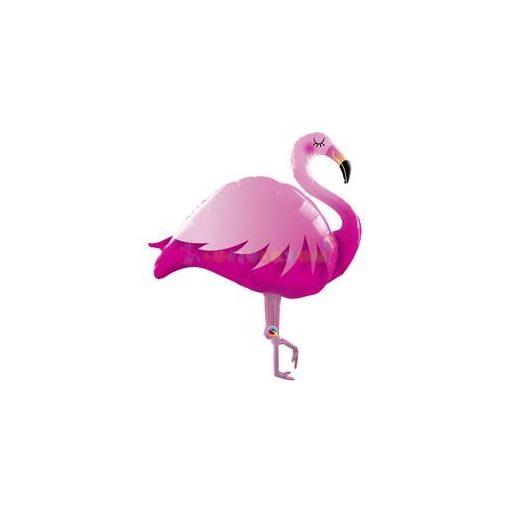 Pink Flamingó Super Shape Fólia Lufi