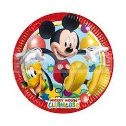 Mikiegér Playful Mickey Parti Tányér - 20 cm, 8 db-os