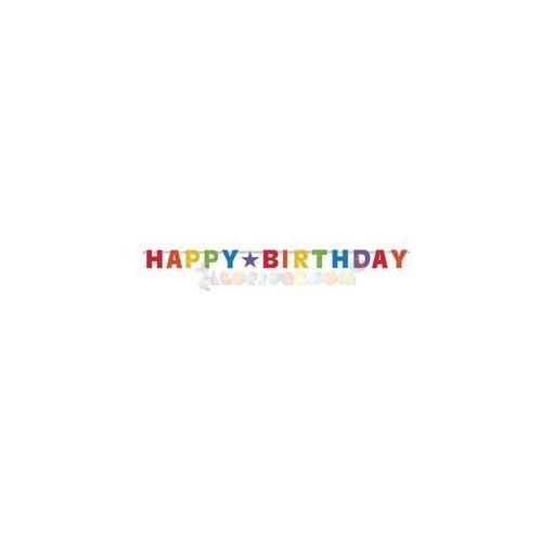 Happy Birthday Prizmatikus Születésnapi Banner