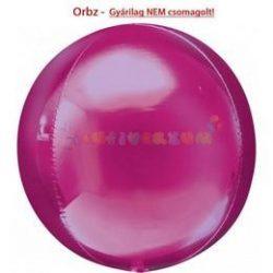 Rózsaszín Orbz fólia léggömb