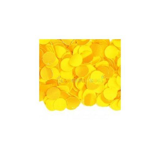 Sárga Papír Konfetti - 100 g