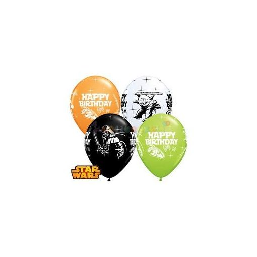 Star Wars Születésnapléggömb - 28 cm