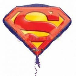 Superman jel fólia lufi
