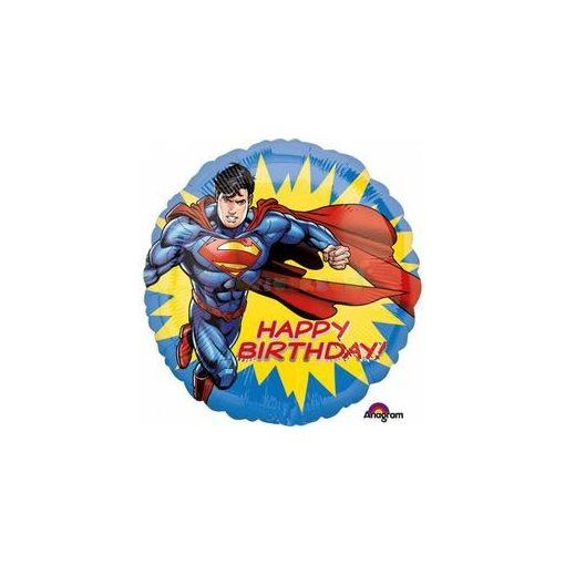 Superman Szuperhős Szülinapi Fólia Lufi
