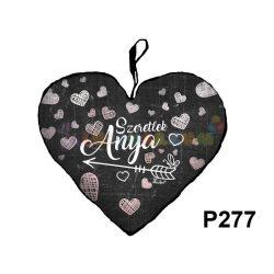 Szeretlek Anya  – Szív formájú díszpárna P277