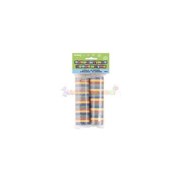 Színes Szerpentin csomag - 40 db-os
