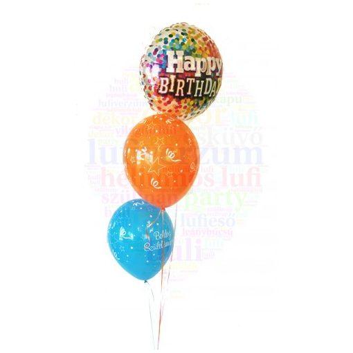 Születésnapi héliumos csokor - Mini