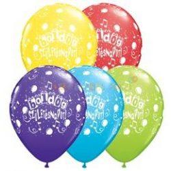 Boldog Születésnapot magyar feliratos printelt Léggömb