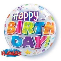 Birthday Party Minták Születésnapi Bubble Léggömb