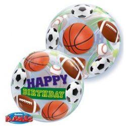 Sportlabdás Születésnapi Bubble Léggömb
