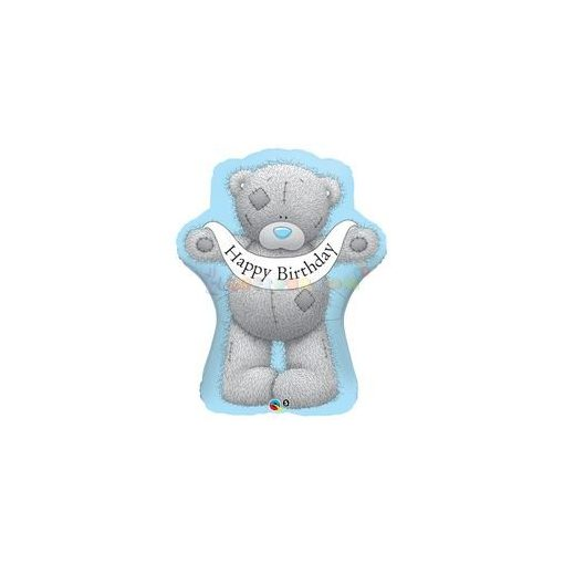Tatty Teddy Birthday Banner Fólia Lufi