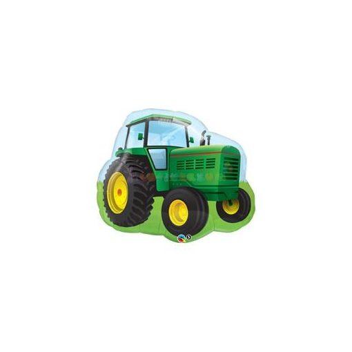 Zöld traktor Fólia Lufi