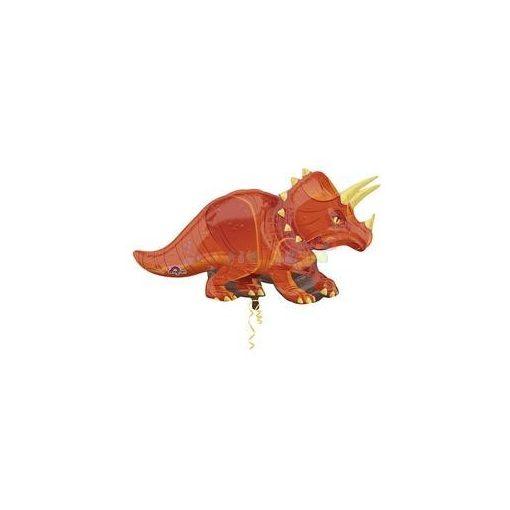 Triceratops Dinoszaurusz fólia léggömb