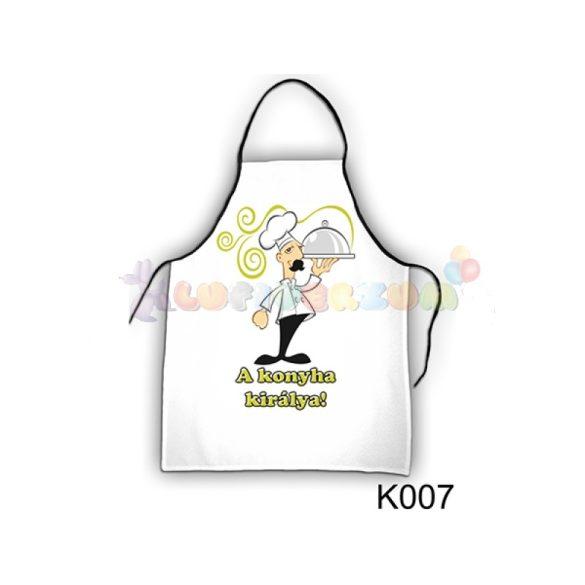 Vicces kötény - A konyha királya K007