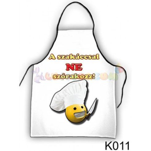 Vicces kötény - A szakáccsal ne szórakozz - K011