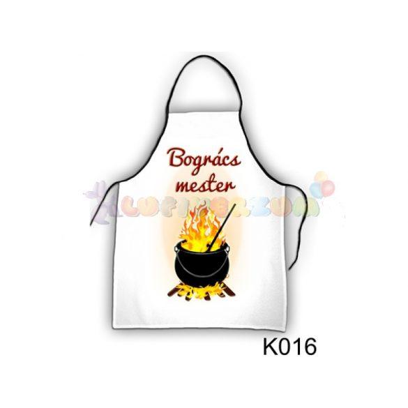 Vicces kötény - Bográcsmester K016