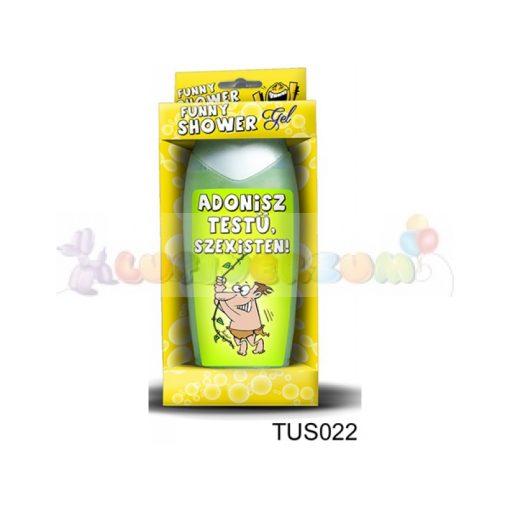 Vicces tusfürdő -  Adonisz testű szexisten 022